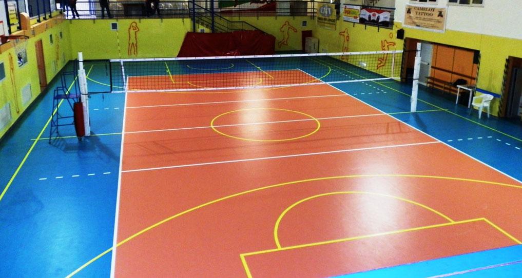 La struttura del campo da pallavolo - Campi da pallavolo gratis stampabili ...