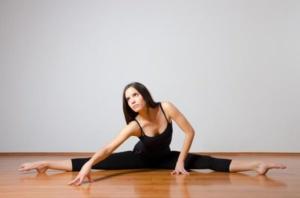 Come fare la spaccata, esercizi stretching