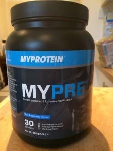 Recensione MyPre MyProtein