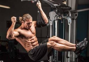 Esercizi per aumentare il volume, la massa muscolare dell'addome